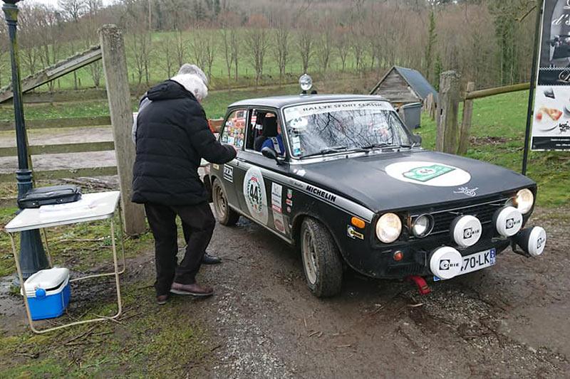 Succès pour le 1er Normandie Classic Rally