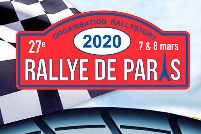 Calendrier Coupe De France Des Rallyes 2020.Le Rallye De Paris 7 Et 8 Mars 2020