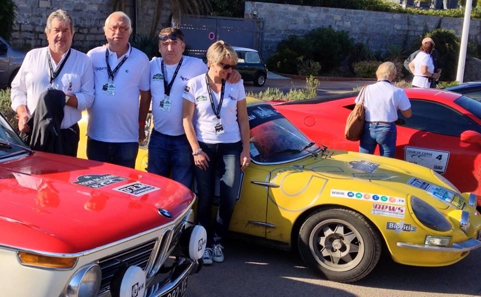 Une seconde sépare la BMW (Michel Chabran et André Génin) de la CG (Didier Malga Anne-Valérie Bonnel)
