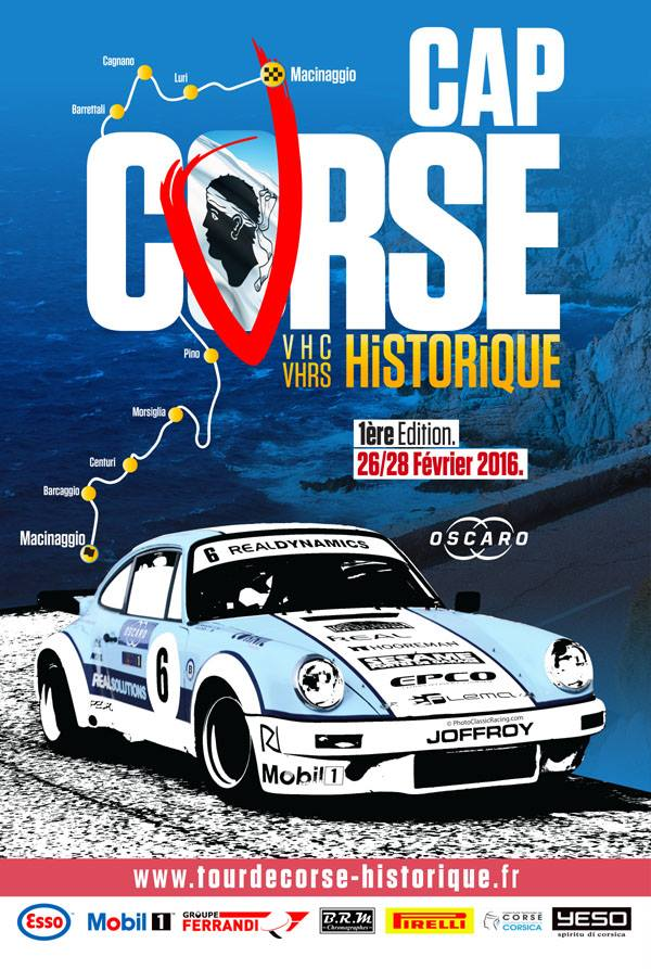 le 1er cap corse historic rally les engag s 2016. Black Bedroom Furniture Sets. Home Design Ideas