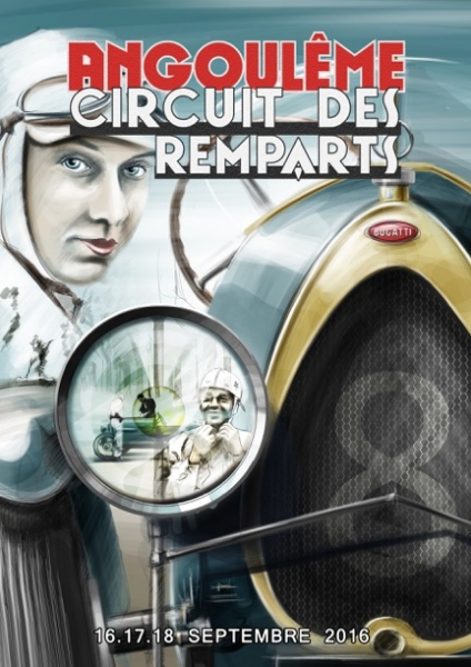 Circuit des remparts angoul me 2016 for Angouleme 16