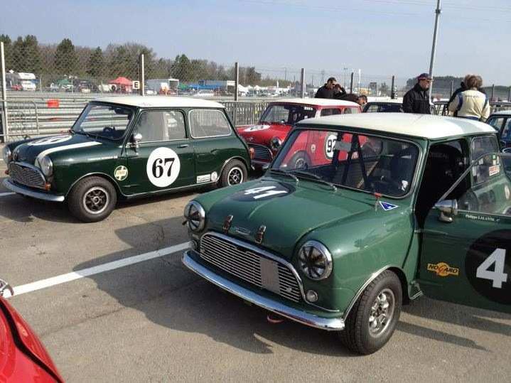 Le troph e mini classic l 39 historacing festival de dijon for Garage mini pau