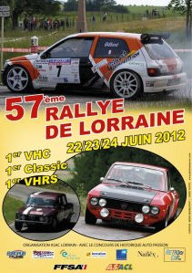 rallye de lorraine une 1 re pour les vh. Black Bedroom Furniture Sets. Home Design Ideas