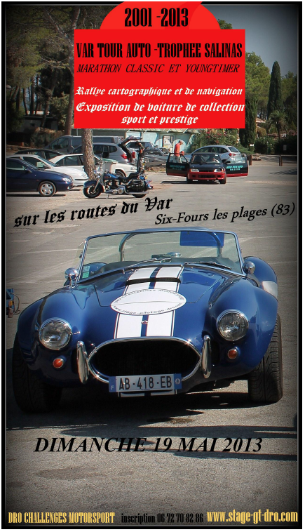 Var Tour Auto 2013