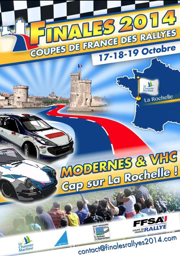 La finale de coupe de france des rallyes 2014 direction la rochelle - Coupe de france des rallyes ...