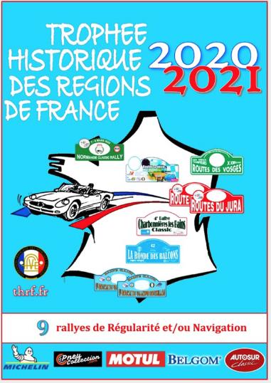 Trophée Historique des Régions de France (THRF) : le NOUVEAU